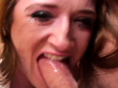 PASCALSSUBSLUTS - Redhead Sabrina Jay dicked hard in bondage