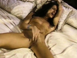 All Natural Woman Plays with Her Hair Pussy