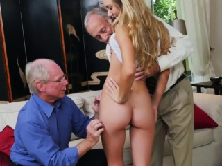 Old mature slut gangbang and granny Molly Earns Her Keep
