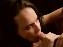 Katie Spits On A Succulent Dick