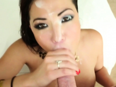Sexy London Spits On A Dick