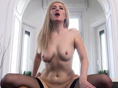 Blonde Mature Honey Dayana Ice Is Tossing A Soiree, And Has