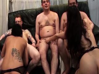 cute girlfriends first groupsex orgy