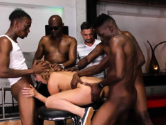 Domina Gets Big Black Cock Creampie