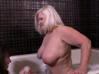 Granny loves lesbian sex