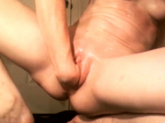 Hot Chinese Superslut Fisted In Her Wide Open Asshole