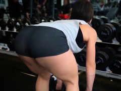 Gostosa Malhando - Sexy Girl At The Gym