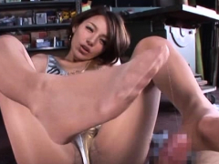 Shlong Is Great For A Great Excited Chinese Female Rio's Blowjob