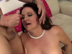 Volwassen Leylani Houten Gets Licked n Dicked n Dicked