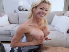 Busty Milf Step-mom Hyped A Bland Video With Pussy