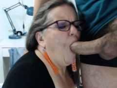 European Cougar Attempts A Little Massager On Her Pussy