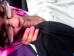 Hijab Doll Deepthroating Her Paramour Bone In Car
