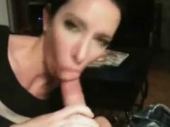 Milf Sucky-sucky Dick And Jizm Swalow