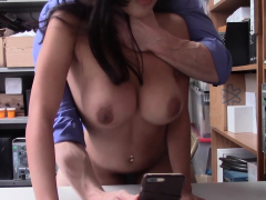 Bad Latina With Meaty Bum Tears Up A Cop With A Meaty Cock