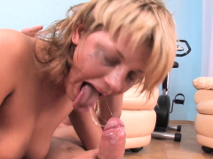 Overwhelming Teenage Sky Does Her Finest To Get Jizz In Mouth