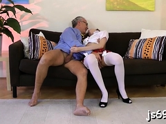 Sexual Maid Angel Hott Gets Rudely Fucked