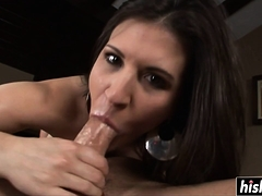 Busty Dame Thirsts For A Huge Dick