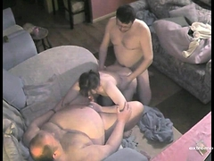 Spying My Mothers Threesome