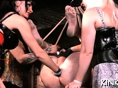 Have A Joy Dominatrix-bitch And Sloppy Meaty Manmeat Going At It