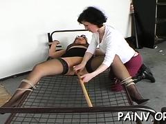 Angelic Girlie Examines Carnal Pleasures