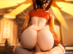 Sexy Donk Overwatch Honies Get Humid Rectal Pounding