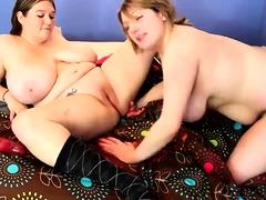 Lesbians fucking god of toys on webcam