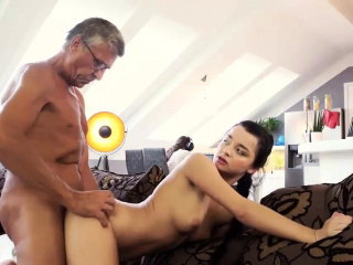 DADDY4K. Old man satisfied sexual needs