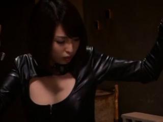 Goluptious oriental babe Shoko Akiyama gets a hard ride