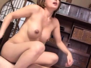 Smokin' sexy pussy toying for stunning mature oriental babe