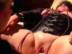 My Female Dom Wifey Going Knuckle Deep Pierced Cunt