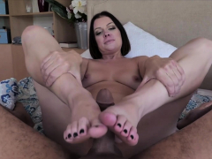 POV style taboo quickie fuck with my hot stepmother