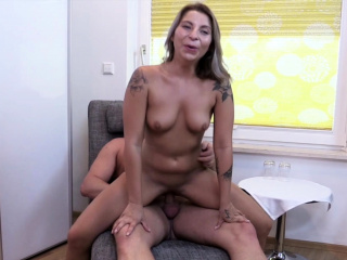 German Young College Girlfriend Katy First Squirt at Fuck