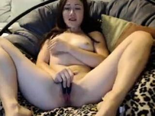 cute little asian slut fingering herself on live webcam