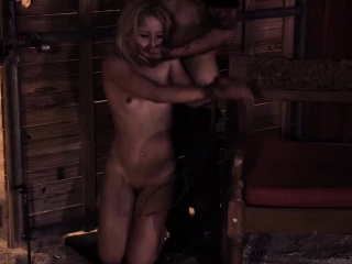 Extreme daddy crony's daughter and new slave girl Poor
