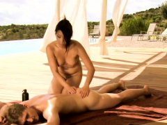 Beautiful And Voluptuous Massage Video Techniques From Asia