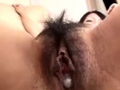 Shy Asian Nubiles Open Up Their Fur Covered Honeypots In Close Up