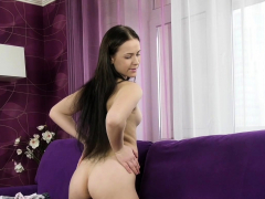 Virgin Masturbation And Casting With Adelyn Abbe
