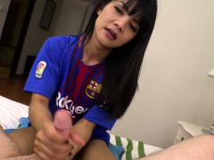 Manaw: Voetbal Bareback Prostaat Handjob
