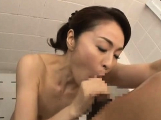 Asian Shower Leads To One Sizzling Sloppy Blowjob