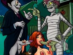 Halloween Notorious Toons Orgy