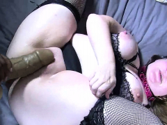 Bbw Chick In Stocking Porked Hardcore In Fat Pussy