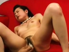 Petite Asian Chinese Granny Pulverized With Fucktoys 6