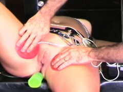 Elegant Maid Is Riding Her Favorite Sex Toy