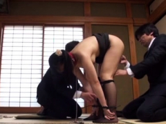 Stimulation Of A Red-hot Oriental Pussy