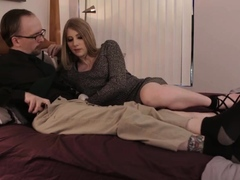 Escort TS Janelle Fennec finally gets anal by a bigcock