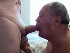 Senior Smooching Cock