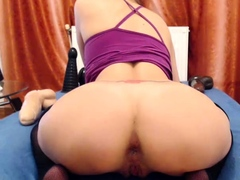 Anal Softcore Honey Flashes Her Wide Open Culo While Fucking At Home