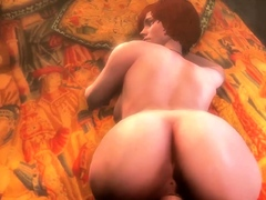 These Animated Cocksluts Hard Ripped Figure Loves Huge Dick