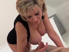 Adulterous Brit Cougar Gill Ellis Displays Her Mass03env