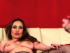 Kinky Cougar Domme Teases